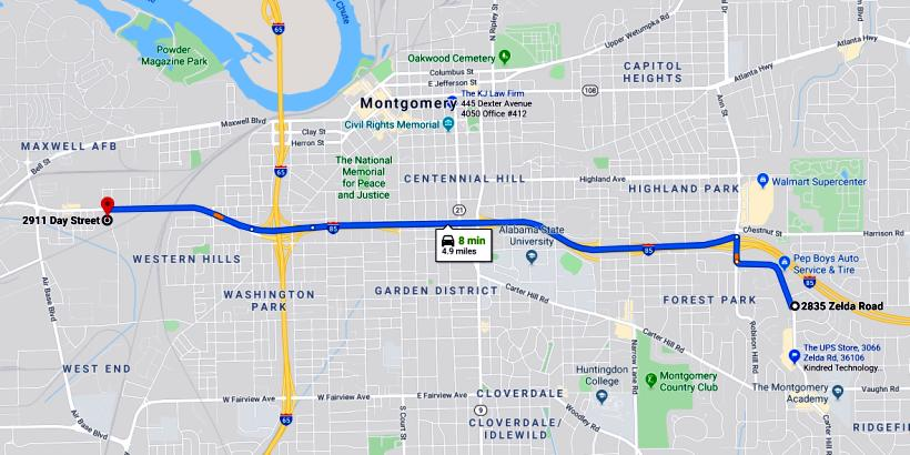 Map & Driving Directions