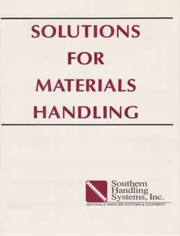 Brochure - Solutions for Materials Handling