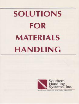 Brochure - Solutions for Materials Handling