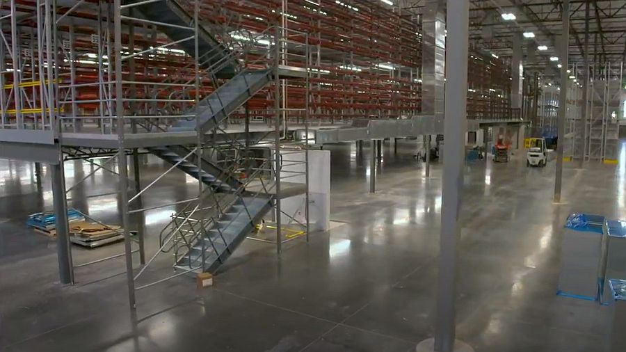 Warehouse Mezzanine Structure