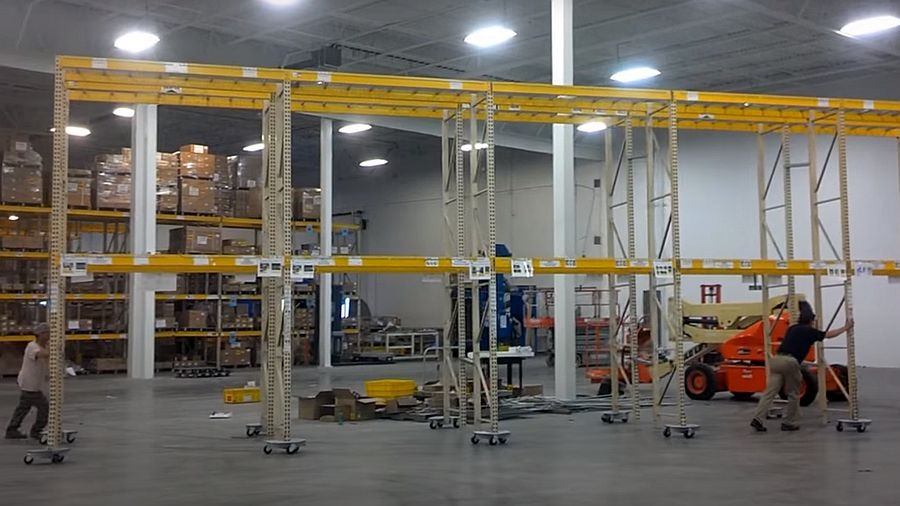 Pallet Rack Relocation Service