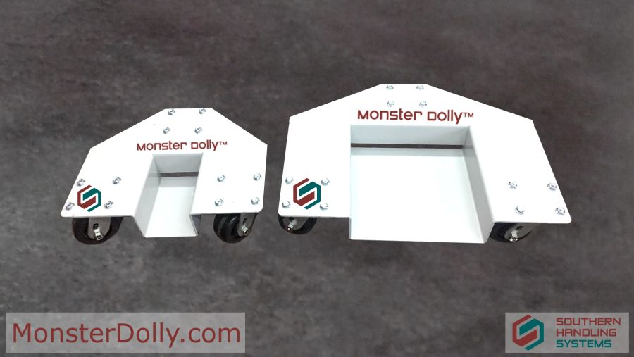 Heavy Duty Tri-Dolly Monster Dolly™ Pallet Rack Moving System