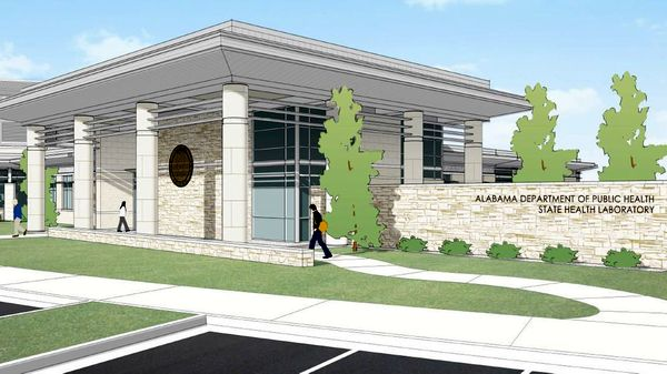 State Health Laboratory Facility, Artist Rendering