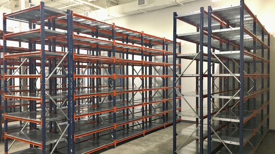 Warehouse Shelving Equipment